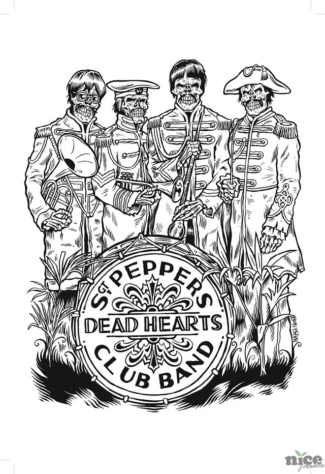 Sgt Pepers Dead Hearts Club Band #1